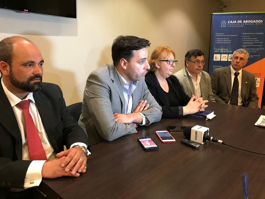 El Colegio de Abogados de Azul se expresó por hechos ocurridos con profesionales de la ciudad