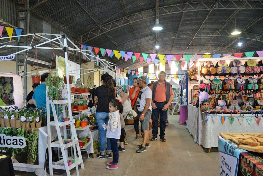 Más de 40 emprendedores locales participaron de la Expo Olavarría 2018