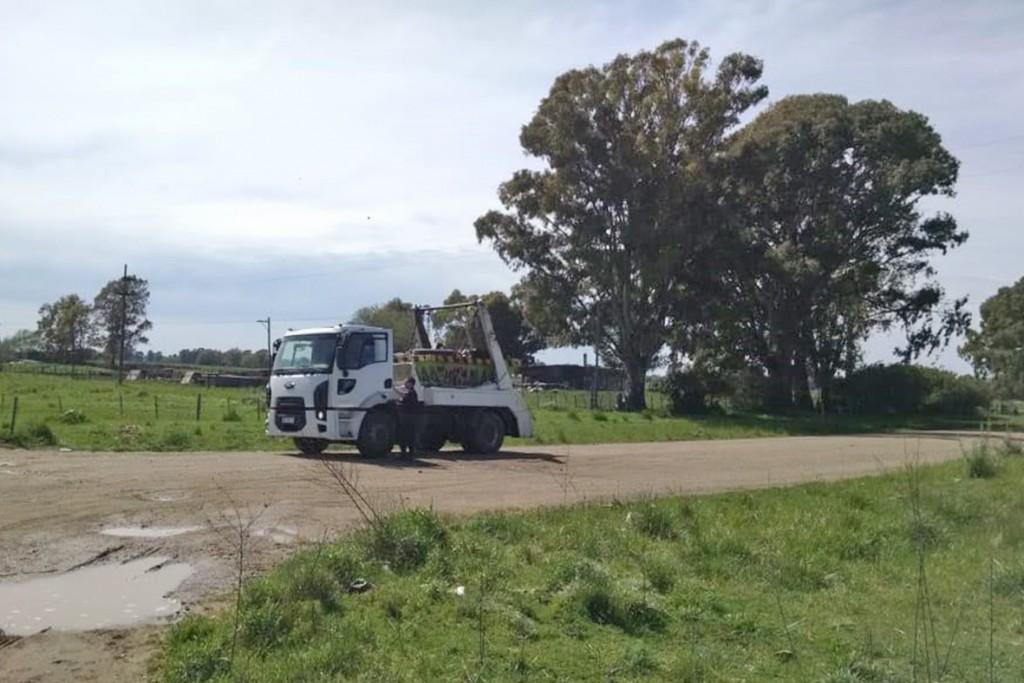 Control Urbano realizó infracciones por carga destapada