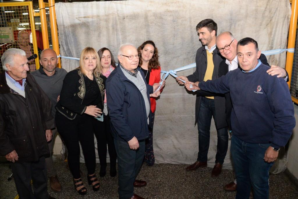 El Centro de Formación Profesional 401 inauguró una obra en el Taller de Soldaduras
