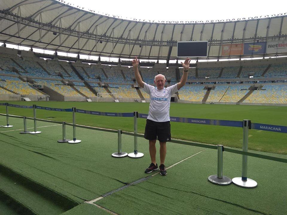 Héctor Grunewald en la Ultra Río 2018