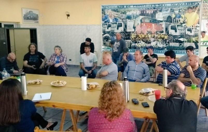 Peronismo: Confluyeron variados sectores en reunión organizada por sindicatos