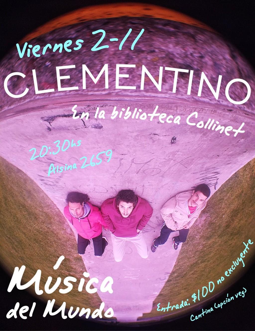 Música en la Biblioteca Popular Armando Collinet