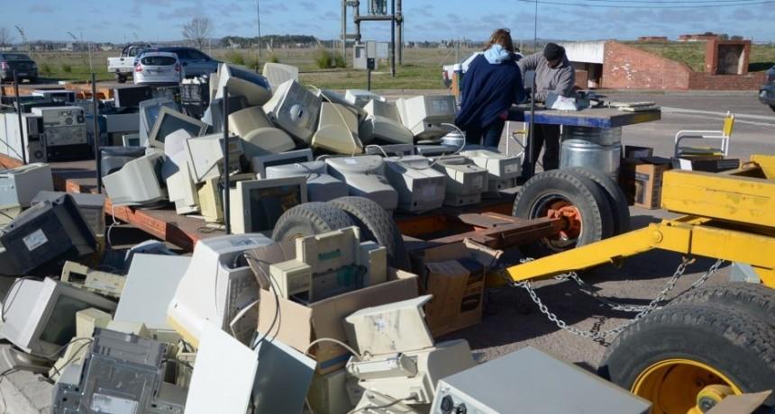 Más de 3000 kilos de basura electrónica recolectados en la última campaña