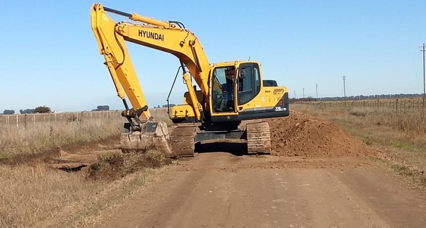 Caminos rurales: se encuentra en marcha el mantenimiento en cuatro zonas