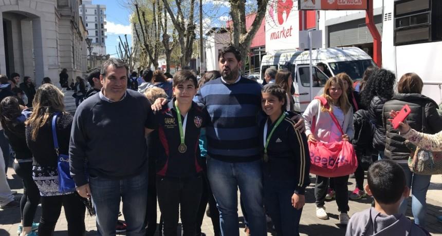 Llegó la primera delegación local de los Juegos Bonaerenses 2018