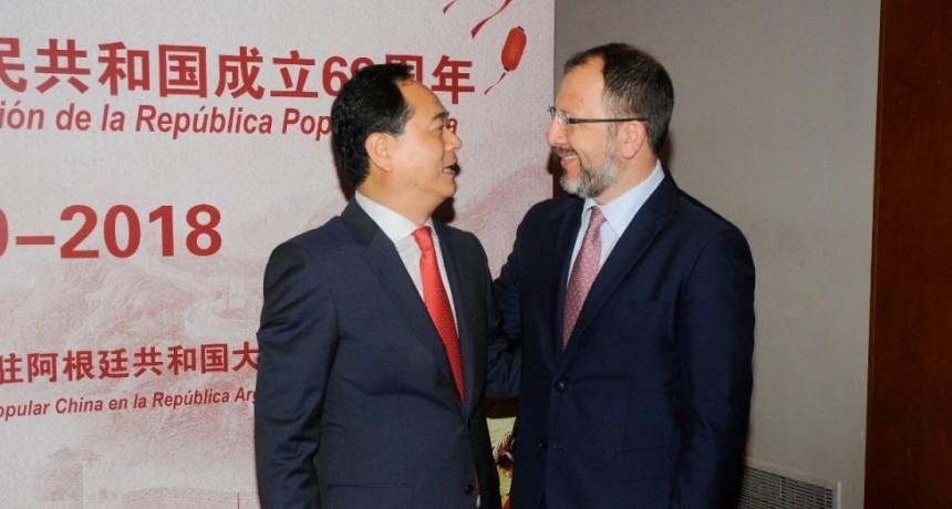 Destacan desde la gestión de Vidal la política de intercambio con China