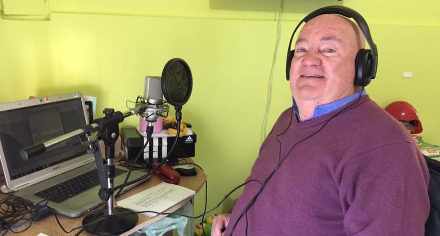 Buscan declarar Vecino Destacado al locutor Gerardo Pagano