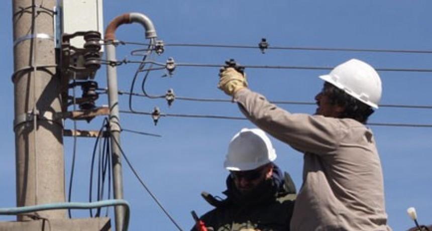 Sierras Bayas sin energía eléctrica