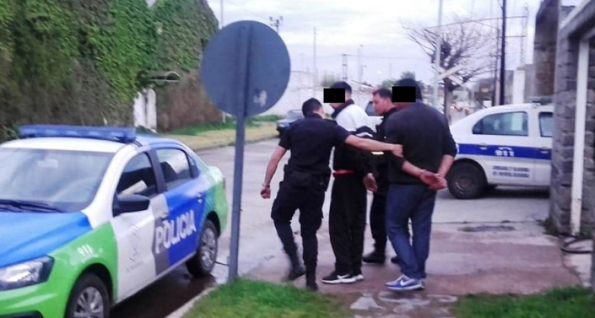 Dos detenidos acusados por intento de homicidio