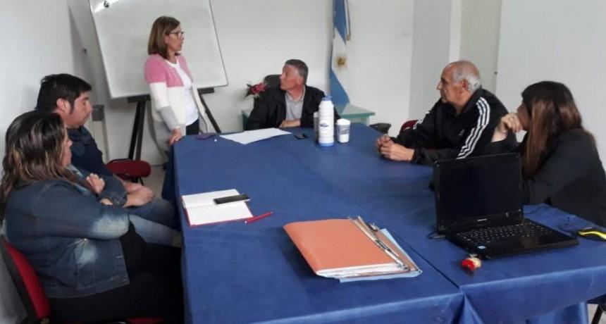 Reuniones con representantes de instituciones de Sierra Chica