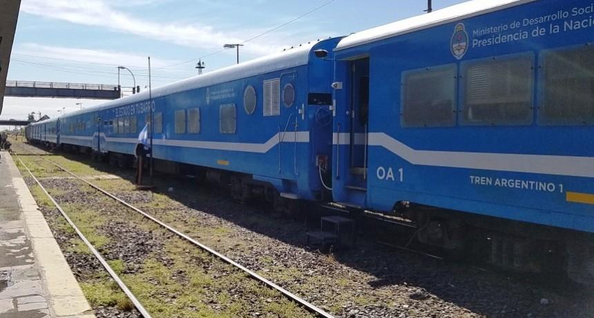 Tren Sociosanitario: 'Siempre es una grata sorpresa'