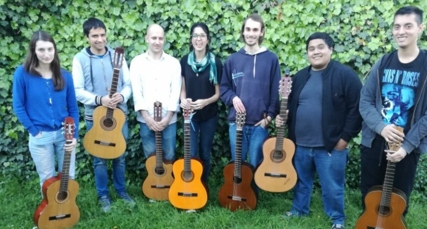 Recital de guitarra en el Centro Cultural San José