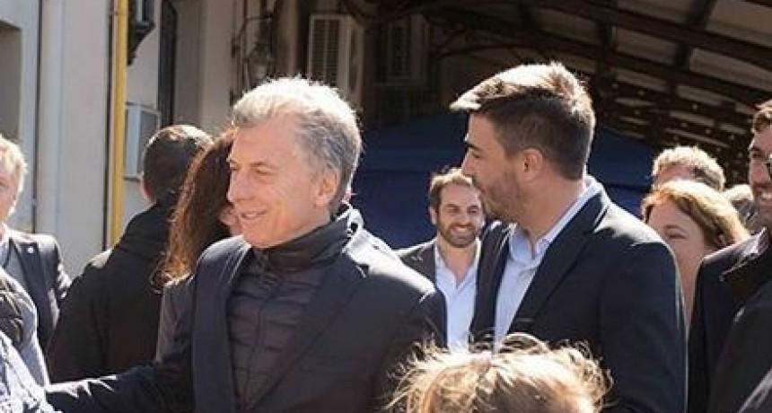 Para Galli, la visita de Macri se compara a rendir un examen