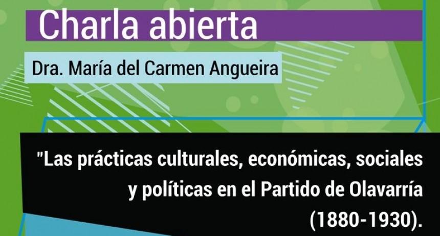 Charla: 'Las prácticas culturales, económicas, sociales y políticas en el Partido de Olavarría (1880-1930)'