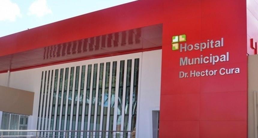 Obras de gas en el Hospital Municipal