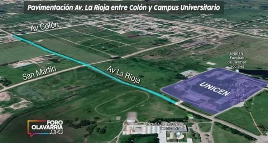 Solicitan la pavimentación de un sector de Avenida La Rioja