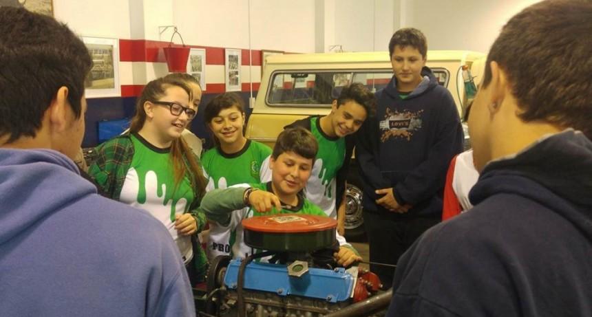 'Somos mecánicos por un día' en el Museo Hermanos Emiliozzi