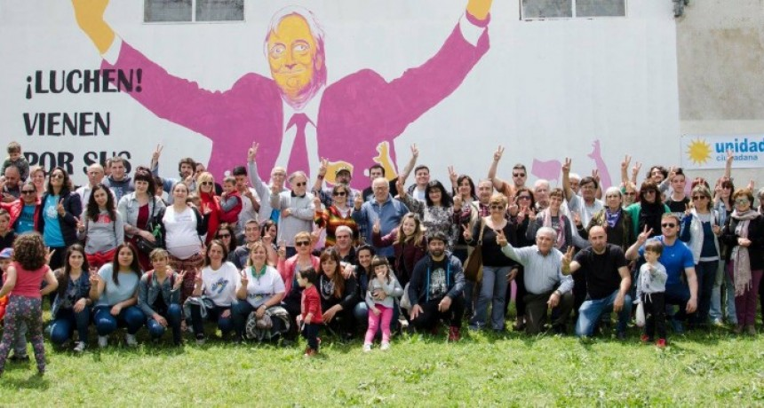 Unidad Ciudadana homenajeó a Néstor Kirchner