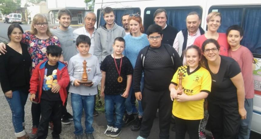 Olavarría en el Gran Prix de Ajedrez del Centro de la provincia