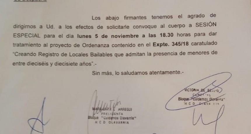 Solicitan sesión del Concejo Deliberante por un proyecto sobre nocturnidad