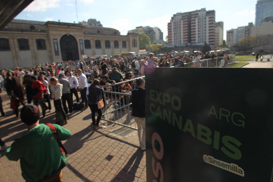 Se realizó la Expo cannabis en la Rural de Buenos Aires