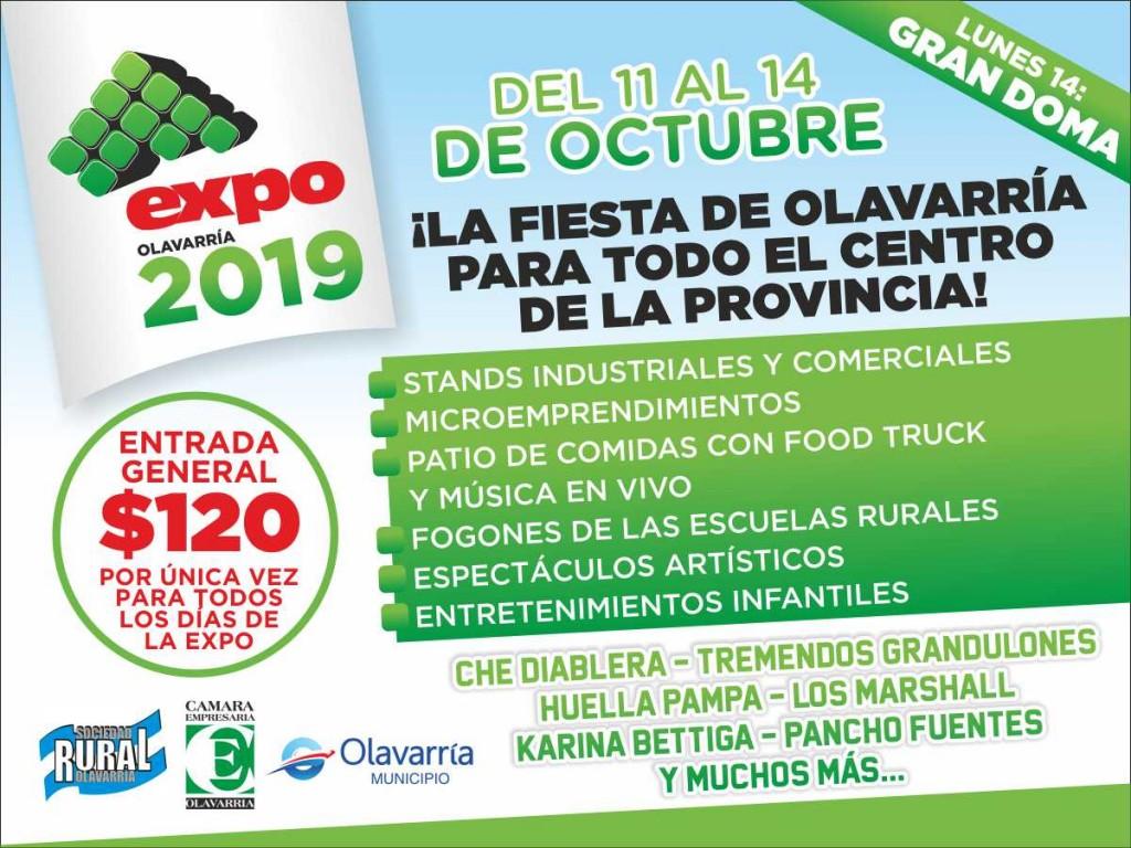 Comienza la Expo Olavarría 2019