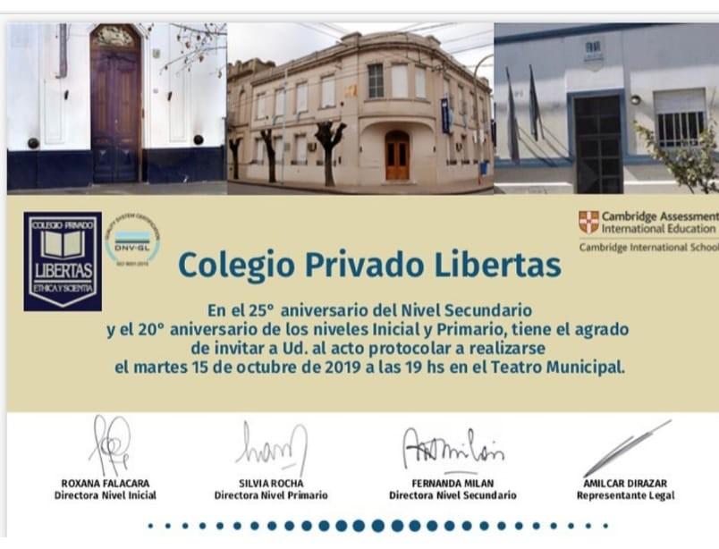 El Colegio Privado Libertas celebra un nuevo aniversario