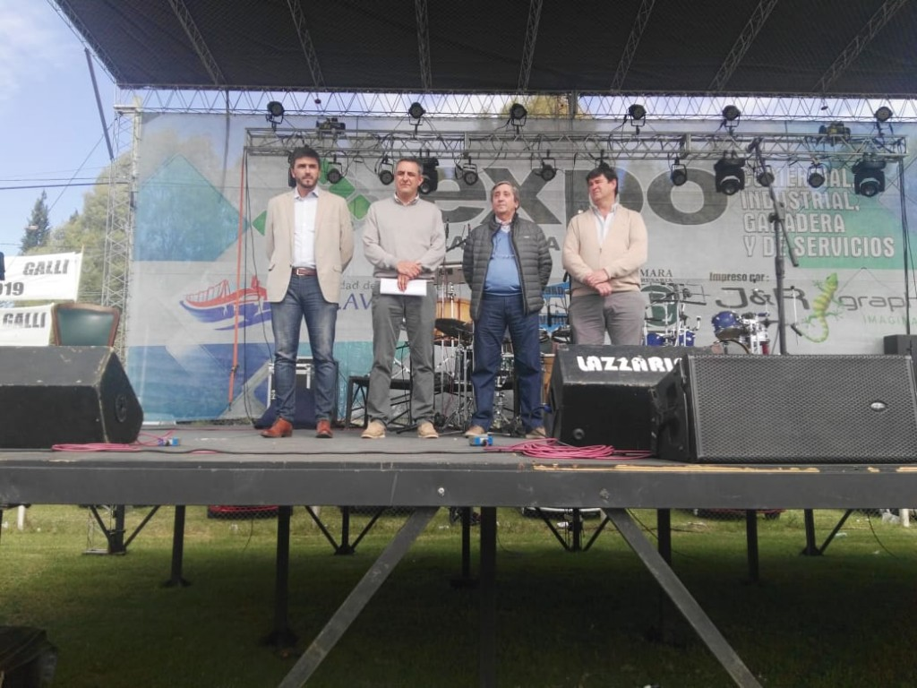 Con discursos de dirigentes y del Intendente, quedó inaugurada la Expo Olavarría