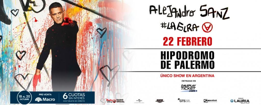 Banco Macro te acerca al show de Alejandro Sanz en la Argentina