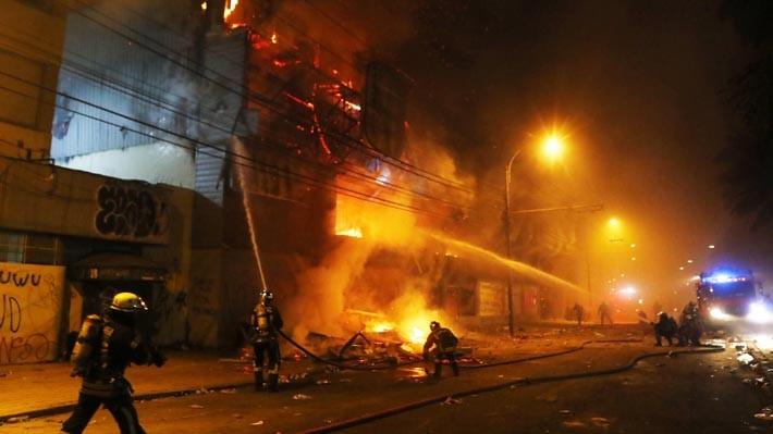 Ya son 8 los muertos en Chile tras la instauración del 'Estado de Emergencia'