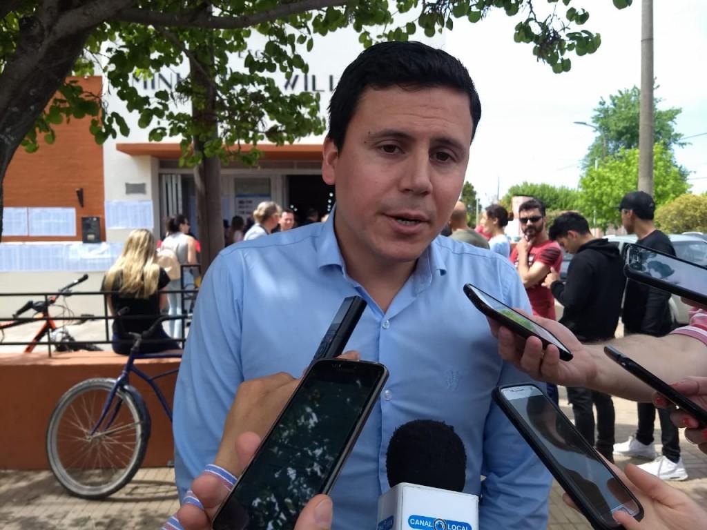 Aguilera: 'lo importante es que la gente tiene la posibilidad de elegir, de votar'