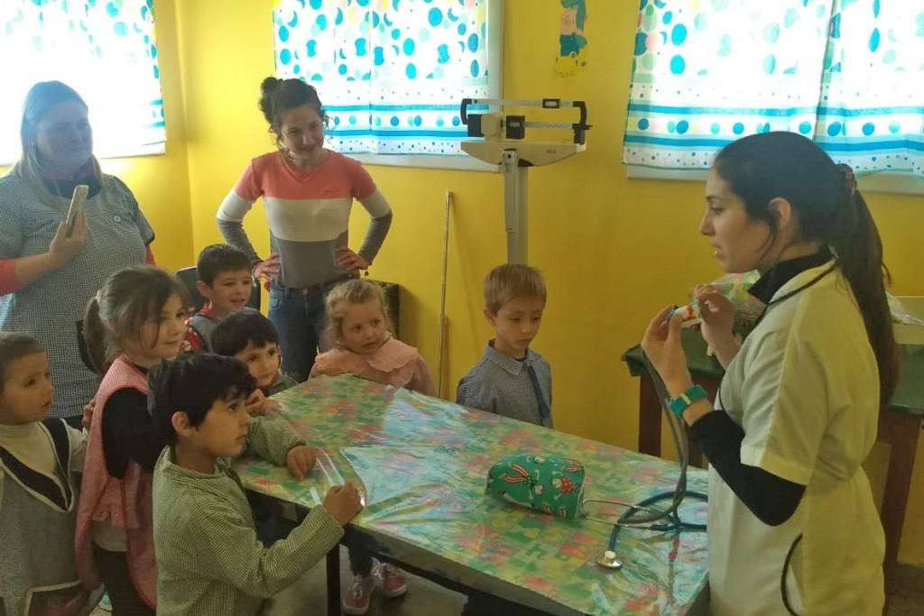 Jornada de vacunación en zona rural