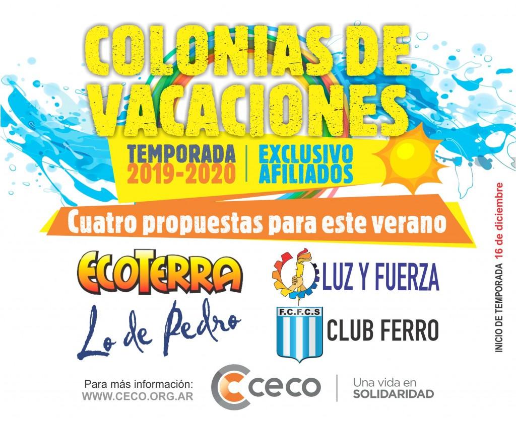 El CECO abrió la inscripción para varias colonias de verano