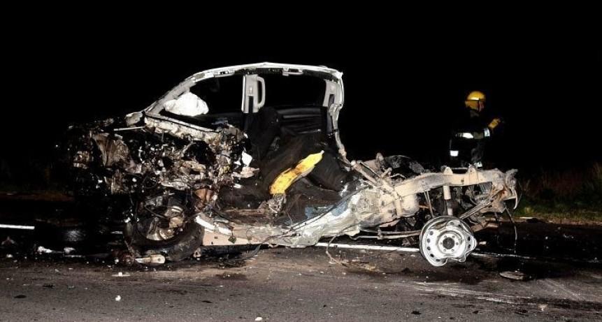 Hecho de tránsito en Ruta 51: dos fallecidos y seis heridos