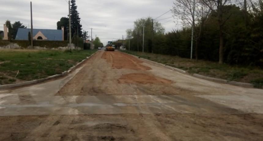Avanza el plan de mantenimiento de calles en la ciudad y localidades