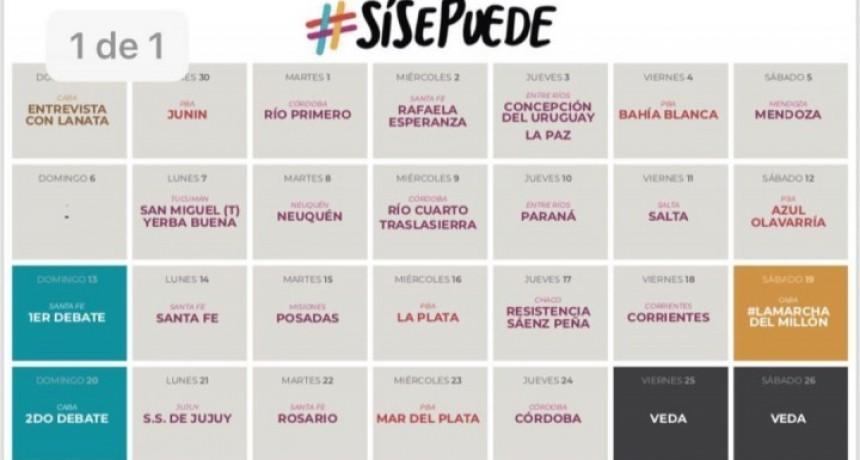 La gira del #SiSePuede vistaría a Olavarría