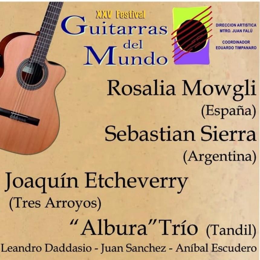 Llega una nueva edición de Guitarras del Mundo