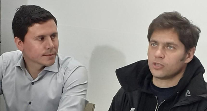 """Axel Kicillof: """"Necesitamos contar con intendentes que piensen igual"""""""