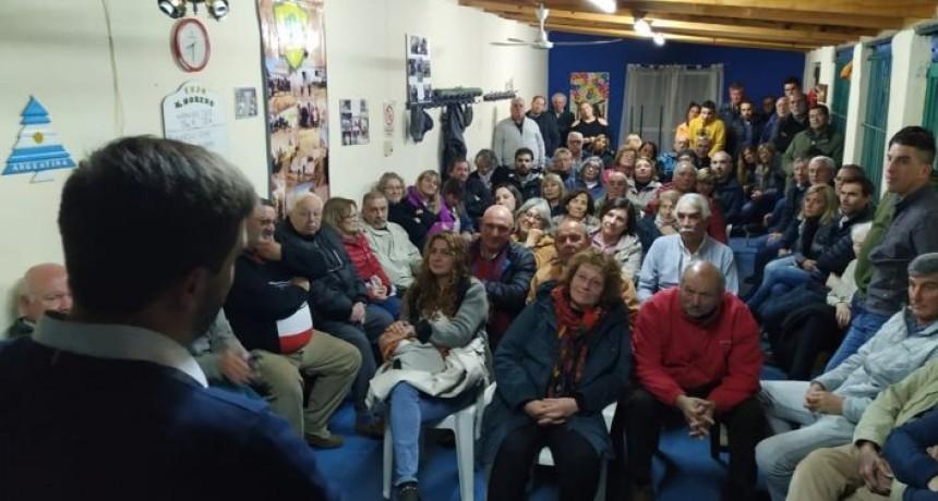 Radicales de Olavarría se reunieron con Galli