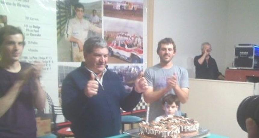 Homenajearon al 'Chueco' Romero en sus 60 años