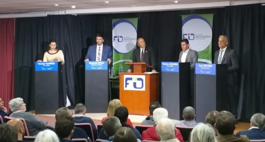Este sábado Lu 32 repite el debate de candidatos a intendente