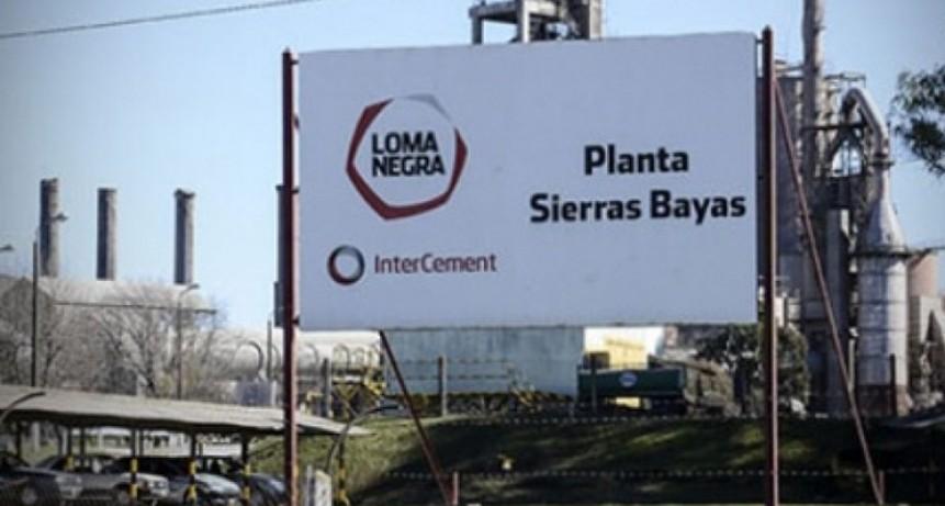 Loma Negra en relación con Sierras Bayas