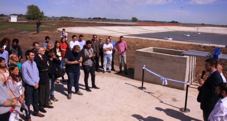'Hoy la planta depuradora de Loma Negra es una realidad'