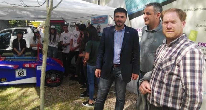 La expo se vive también por Radio Olavarría