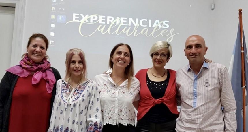 Se realizó la charla Experiencias Culturales del Foro Olavarría