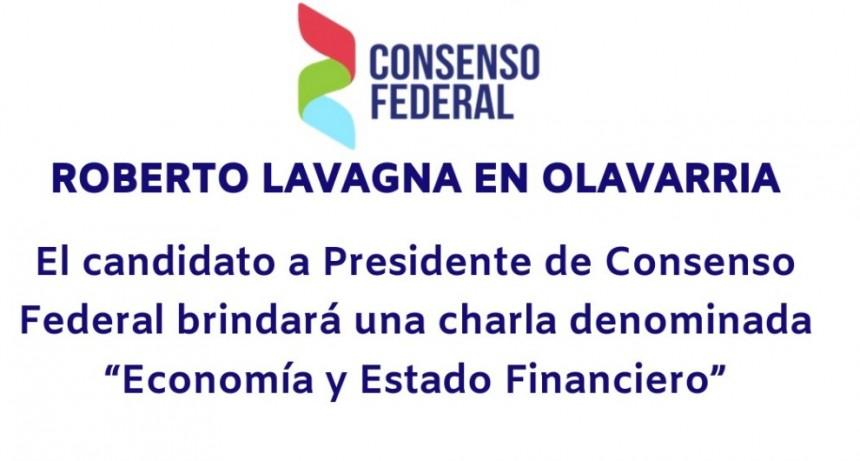 Roberto Lavagna en Olavarría
