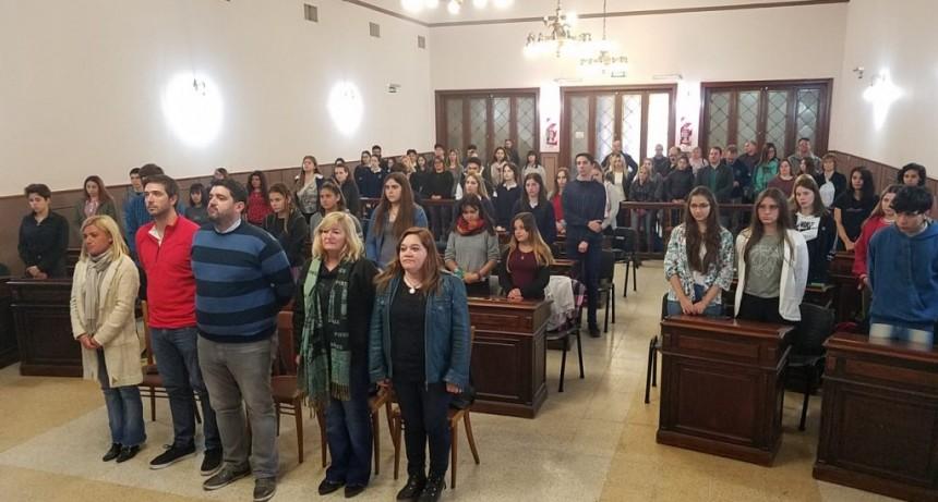 Juraron los concejales estudiantiles de este 2019