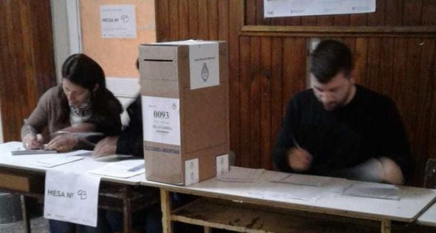 Capacitación de Autoridades de Mesa: la semana próxima se realizan cursos
