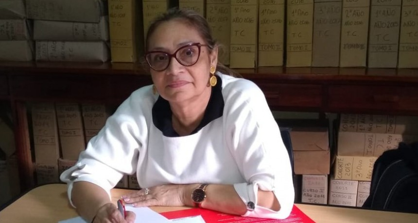 La Decana de la Facultad de Medicina de la Universidad del Sinú, visita Olavarría